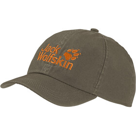 Jack Wolfskin Baseball Cap Børn, grå/orange